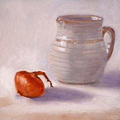 Milk Jug and Shallot #13