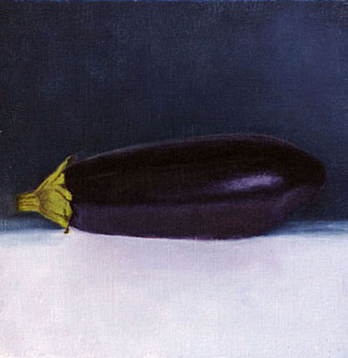 Still Life with aubergine