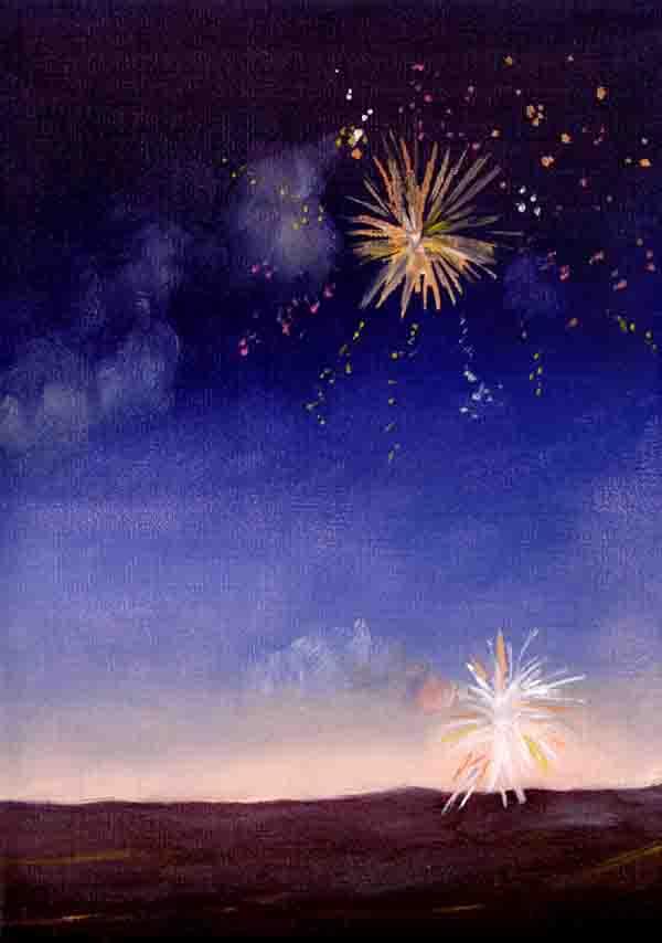 Fireworks on Bastille Day #17