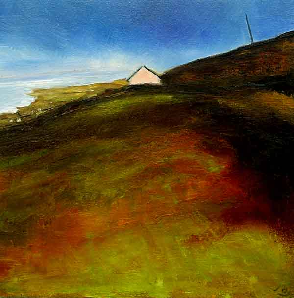 Painting of cottage in West of Ireland