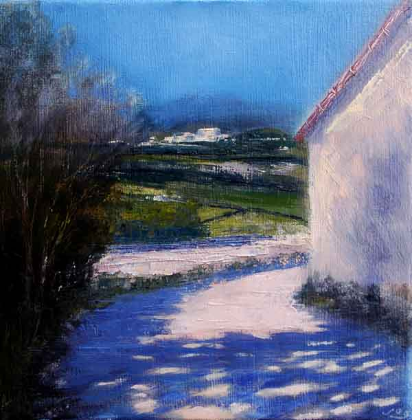 Painting provence, shadows