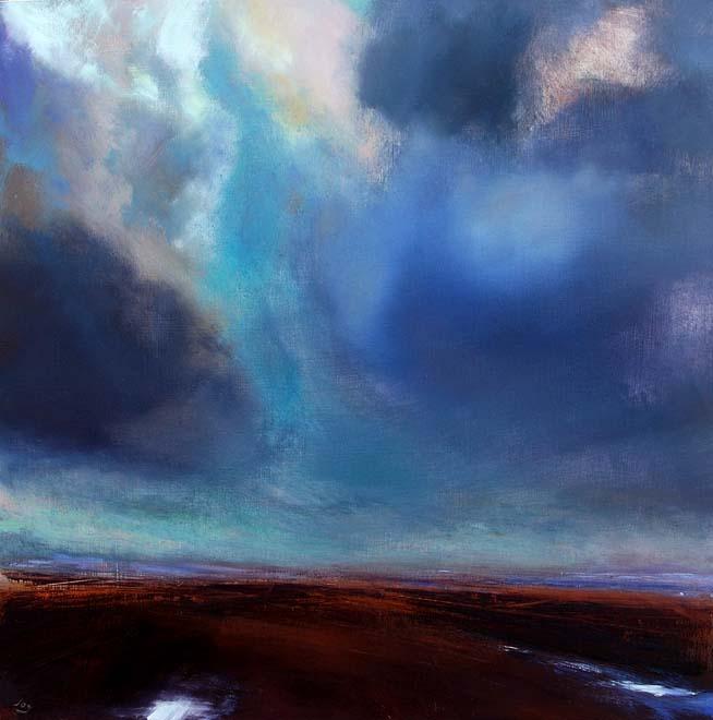 Skyscape over the Irish midlands