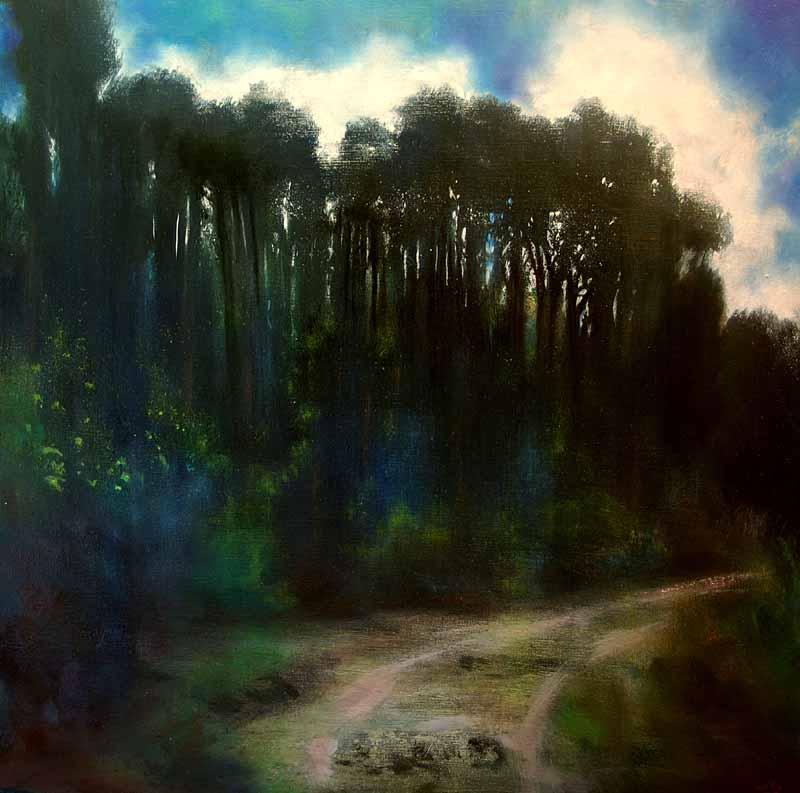 Ireland,Forest,landscapepainting