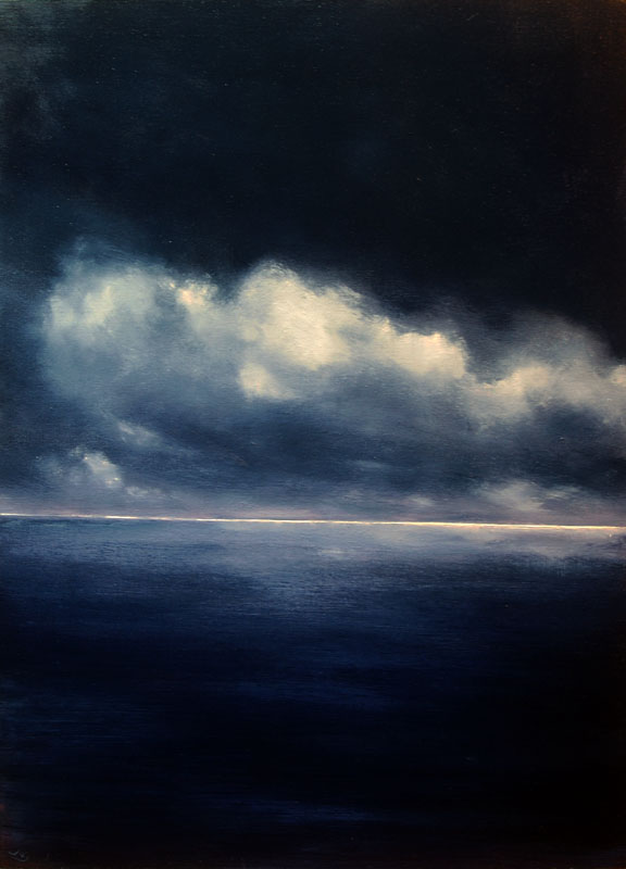 www.JohnOGradypaintings.com. Take me to the Island III