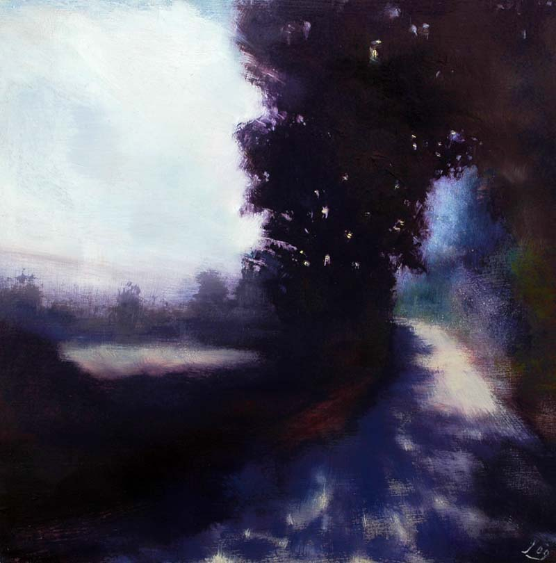 www.JohnOGradypaintings.com. Morning Shadows II