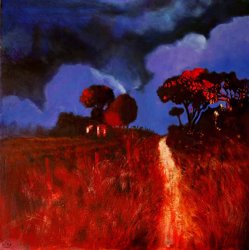 The Glow of the Night, www.JohnOGradypaintings.com.