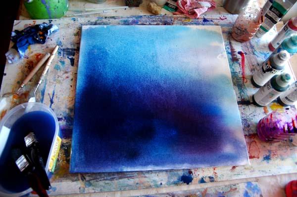 www.JohnOGradypaintings.com. Paintstain