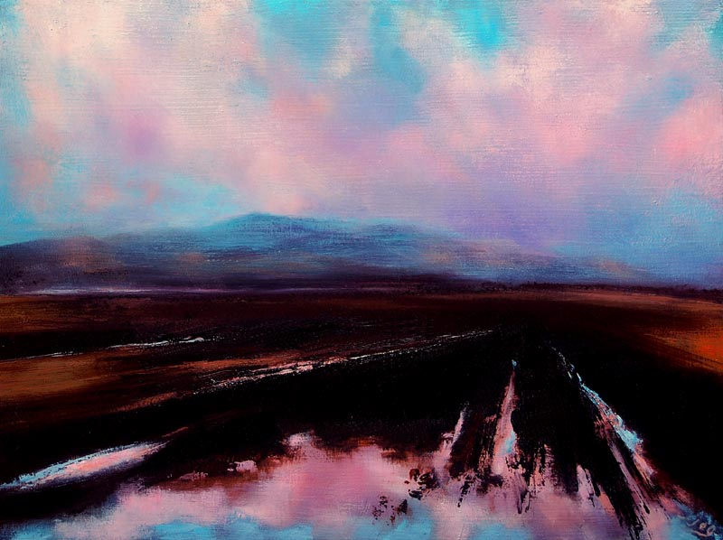 After-the-Rain-Croghan-Hill-JohnOGrady-www.johnogradypaintings.com