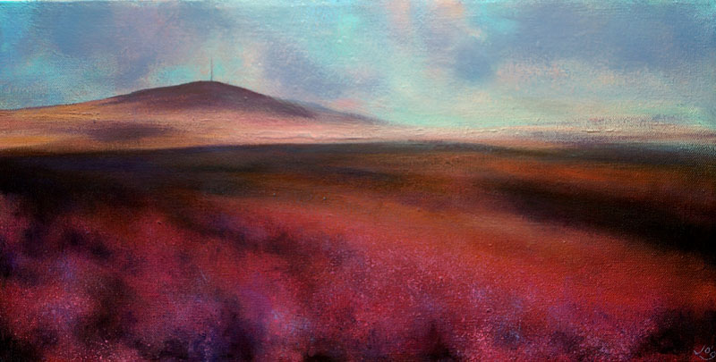 Autumn-on-Mt-Kippure-JohnOGrady-www.johnogradypaintings.com