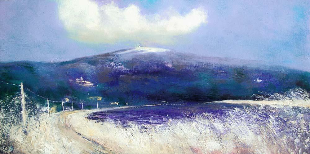 John O Grady Art-La-Route-du-Ventoux