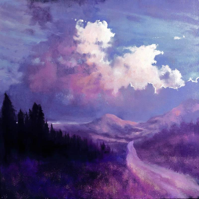 JohnOGradyArt-The-Mountain-Road-IV